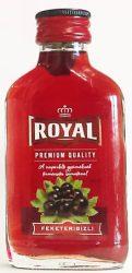 Royal Feketeribizli likőr 0.1  12/#  (28%)