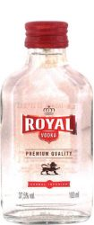 Royal vodka  0.1  12/#  (37,5%)
