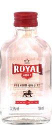Royal vodka  0.1  12/#  (37,5%)