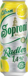 Soproni Radler Citrom 1,4% dobozos 0.5