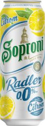 Soproni Radler Citrom alk.mentes dob. 0.5 (0%)