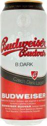 Budweiser Dark 4,7% dobozos 0.5