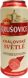 Krusovice Svetlé Lager sör dob. 0.5