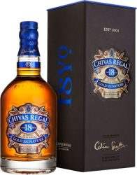 Chivas Regal 18 years Whisky  DD. 0,7l 40%