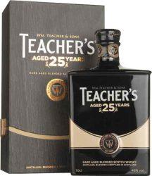 Teacher's 25 years Blended Whisky FADD 0,7 46%