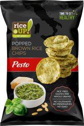Rice Up Pesto ízű rizs chips 60g        24/#
