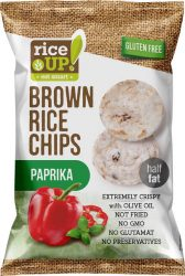 Rice Up Paprikás rizs chips 60g        24/#