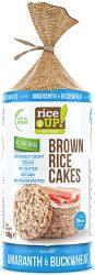 Rice Up Szelet Hajdinás & Amarántos b.rizs szelet  120g    12/#