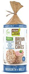 Rice Up Szelet Köles & Amaránt b.rizs szelet  120g    12/#