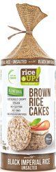 Rice Up Szelet Fekete rizses  b.rizs szelet  120g    12/#