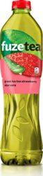Fuzetea Zöld Tea Eper Stevia   1.5l      6/#