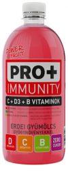 PRO+ Immunity D-,C- és B -Vitamin - Erdei gyüm. 0,75l  6/#