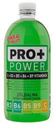 PRO+ Power C- és B -Vitamin - Zöldalma 0,75l  6/#