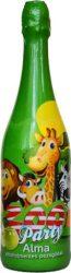 Zoo Party alma ízű alk.mentes pezsgőital 0.75 6/#