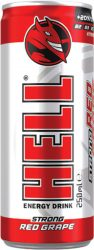 Hell energiaital Red Grape Strong 0.25 24/#